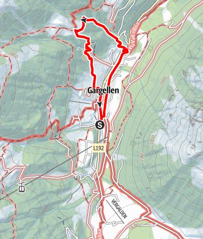 Karte / Klettersteig Röbischlucht