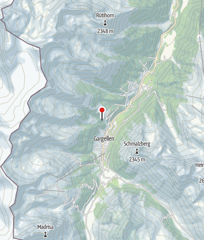 Karte / Einstieg Klettersteig Röbischlucht