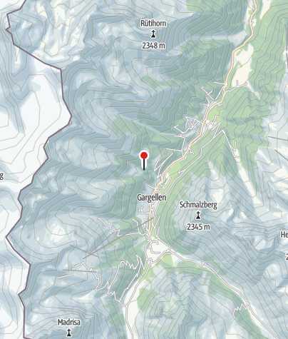 Karte / Ausstieg Klettersteig Röbischlucht