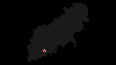Karte / Bettelküchenfährte