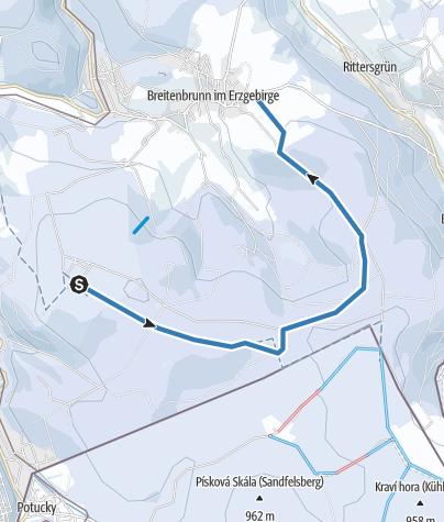 Map / Rabenberg - Breitenbrunn