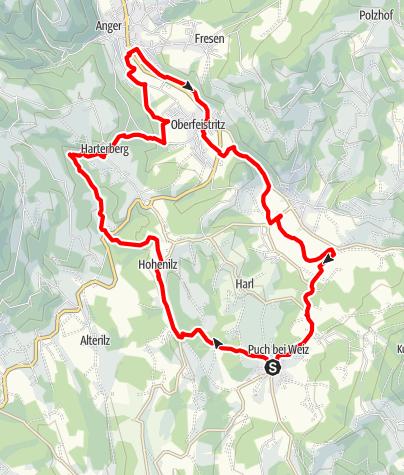 Karte / Grubbründlweg