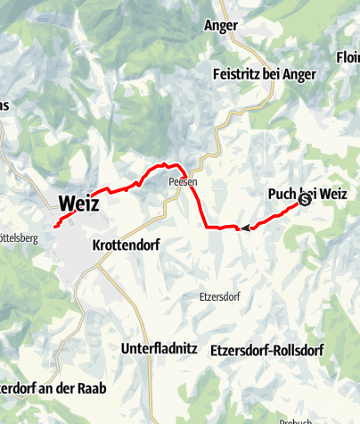 Karte / Apfelwanderweg
