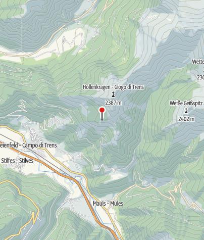 Karte / Trenser-Joch-Hütte
