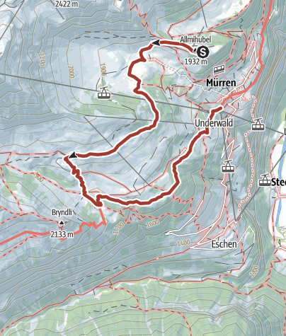 Map / Northface-Trail