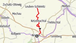 Karte der Tour Ketzerbachtalweg