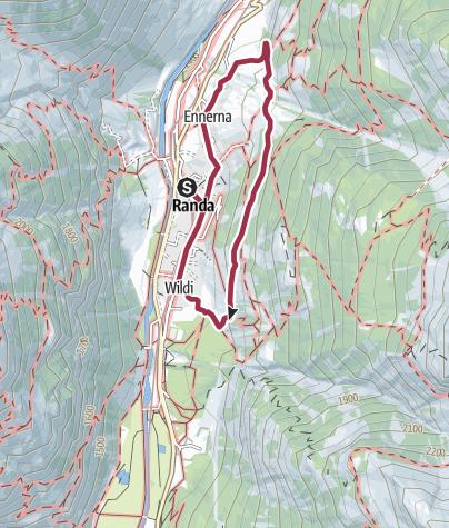Map / Dorfwaldweg