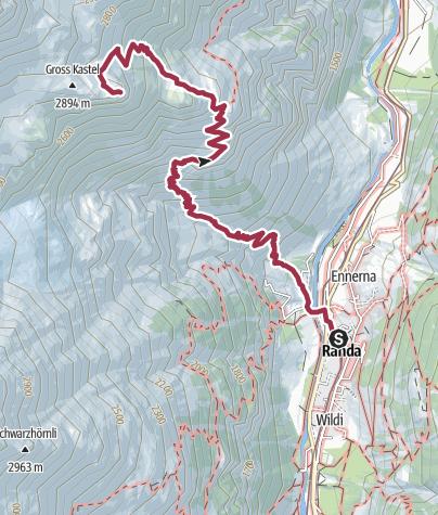Map / Gross Kastel (Nr. 63)