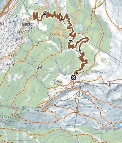 Karte / Sunnegga-Trail