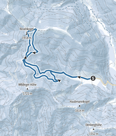 Map / Rosenkogel, Loretto