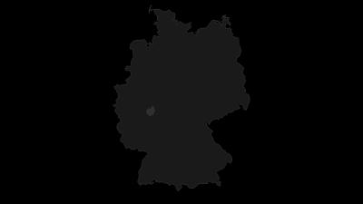 Cartina / Lahn-Dill-Bergland