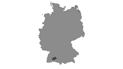 Karte / Obere Donau