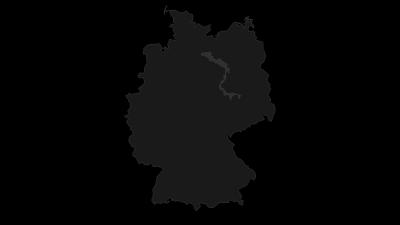 Mapa / Flusslandschaft Elbe