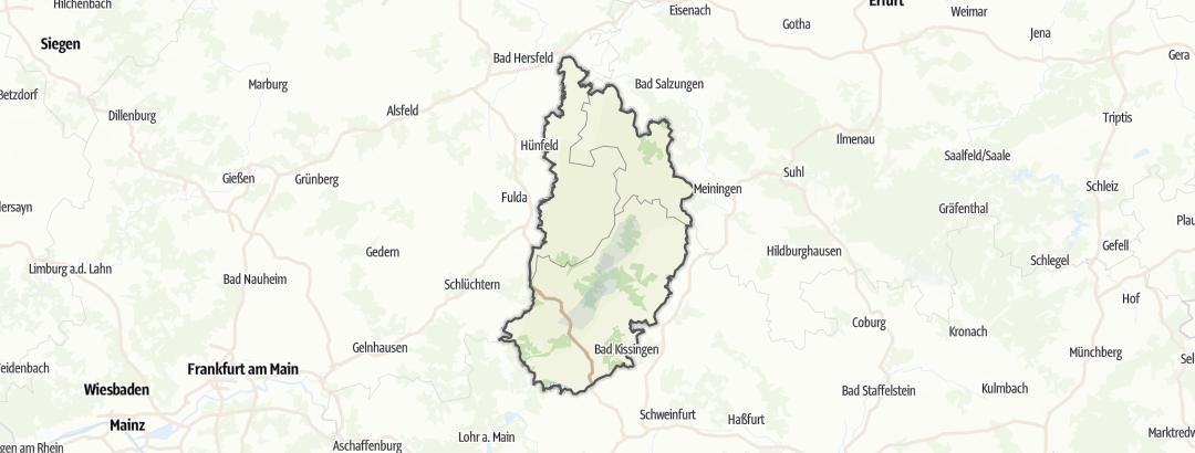 Map / Rhön