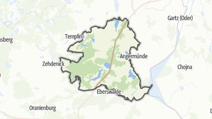 地图 / Schorfheide-Chorin