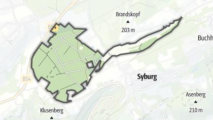 Hartă / Fürstenbergholz und Wannebachtal