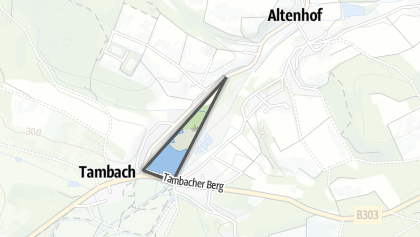 Carte / Großer Teich und Tambachau