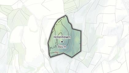 Mapa / Hohenhewen