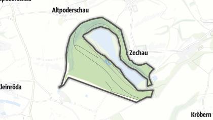 מפה / Restloch Zechau