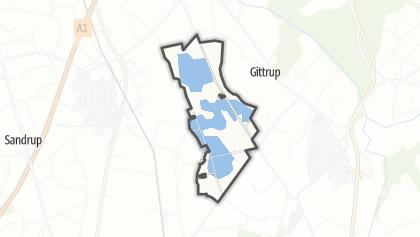 地图 / Rieselfelder