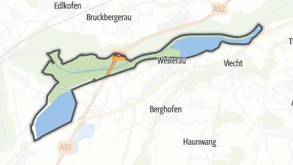 מפה / Vogelfreistätte Mittlere Isarstauseen