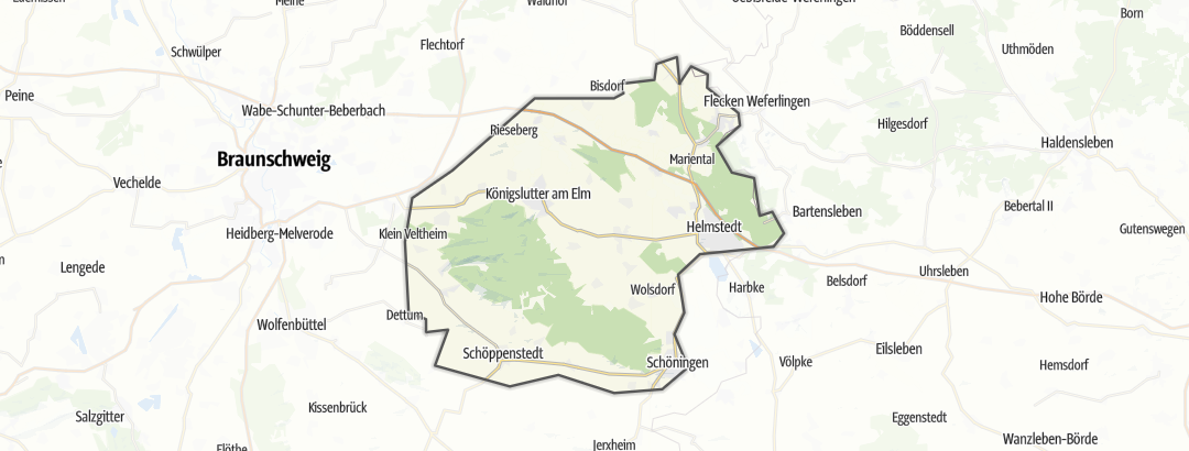Karte / Elm-Lappwald