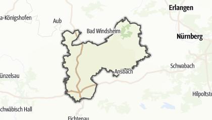 Carte / Frankenhöhe