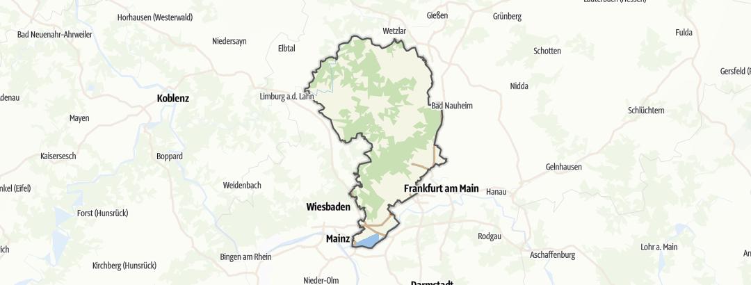 Karte / Hochtaunus
