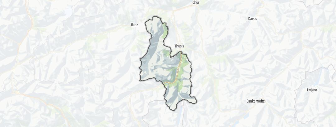 Map / Beverin Nature Park