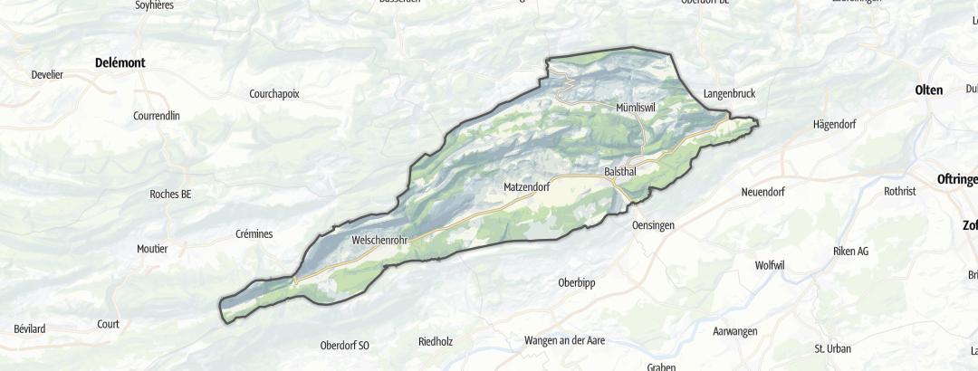 Karte / Naturpark Thal