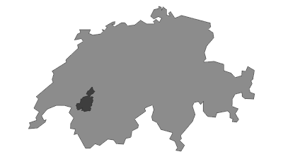 Map / Gruyère Pays-d'Enhaut Regional Nature Park
