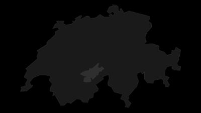 Mapa / Jungfrau-Aletsch-Bietschhorn