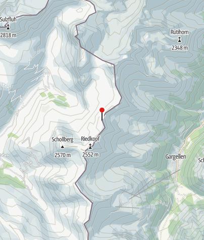 Karte / Rotspitze (2.517 m)