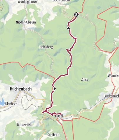 Rothaarsteig Karte.Rothaarsteig 5 Etappe Vom Rhein Weser Turm Nach Lützel
