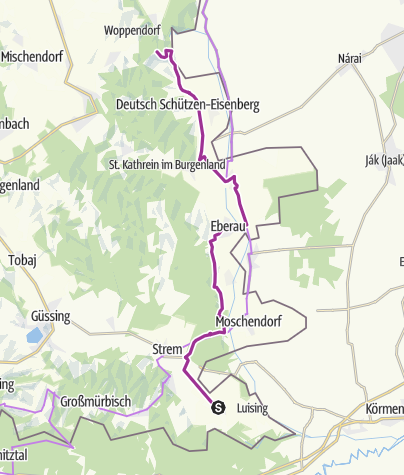 Map / Südburgenland eBike Paradies Route 5.0