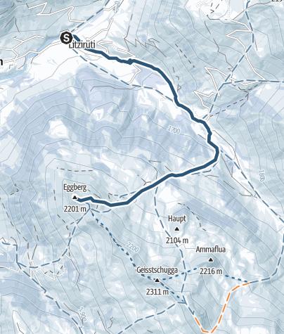 Map / Eggberg 2202m
