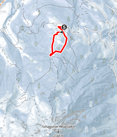 Karte / Rundweg Grabs (Grabs - Hochegga)