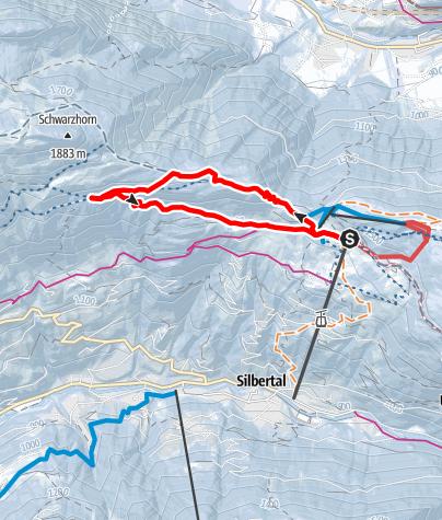 Karte / Rundweg Kristberg (groß)