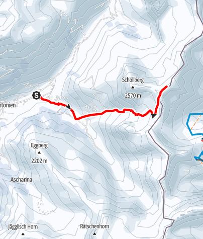 Karte / Riedchopf 2552m