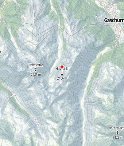 Karte / Madrisellaspitze (2.466 m)
