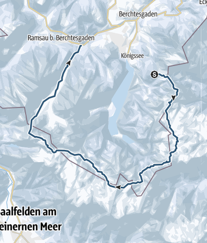 Karte / Große Reibn - Skitour