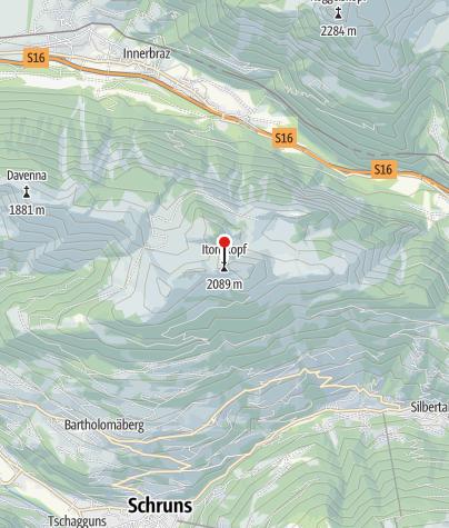 Karte / Itonskopf (2.089 m)