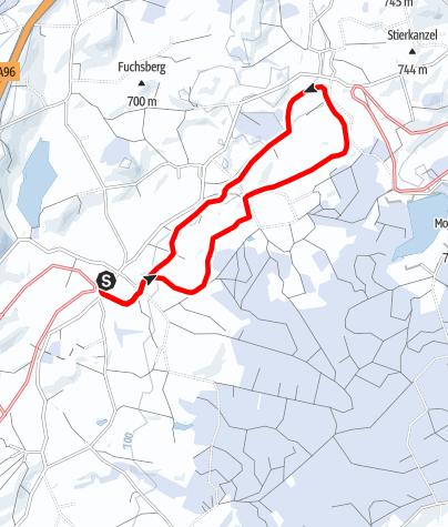 Karte / 16 Gallusblick-Höhen-Loipe
