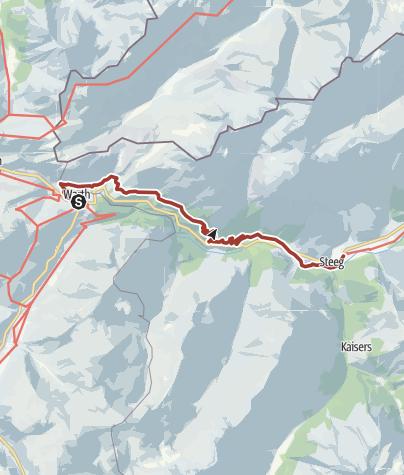 Lechweg Karte.Lechweg Etappe 3 Gemütlich Warth Bis Steeg Themenweg