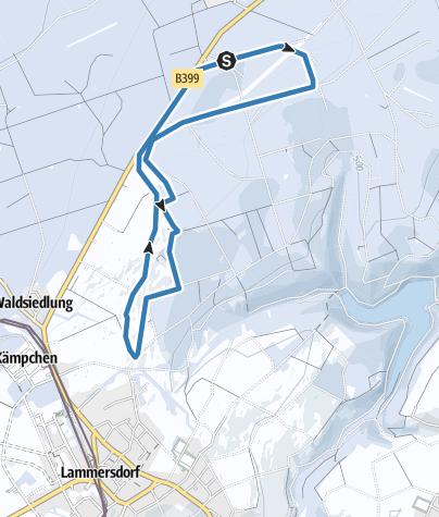 Karte / Loipe Lammersdorf