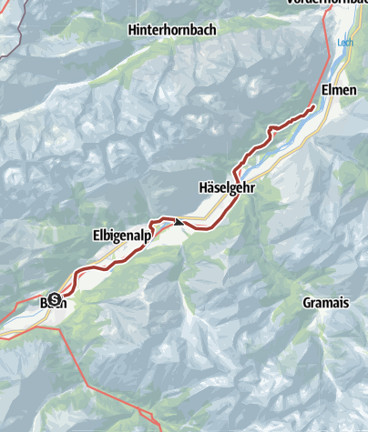 Lechweg Karte.Lechweg Etappe 5 Gemütlich Bach Bis Elmen Themenweg