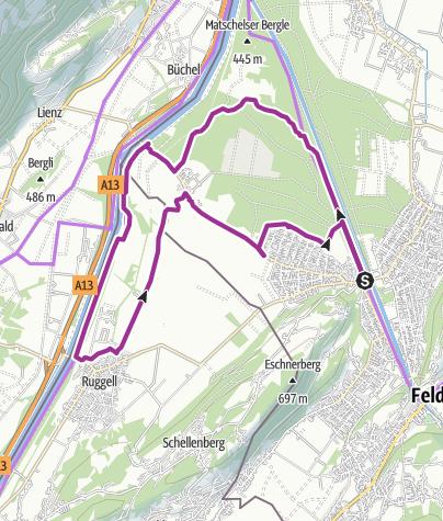 Map / Natur Pur! Ein Besuch der Feldkircher Naturschutzgebiete