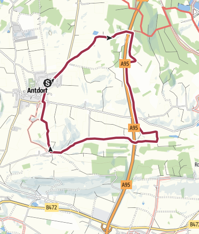 Karte / Höllfilzweg