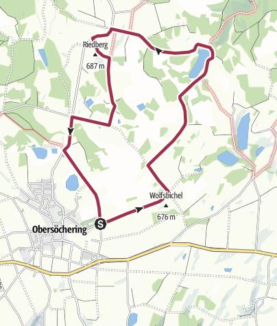 Karte / Enzianweg