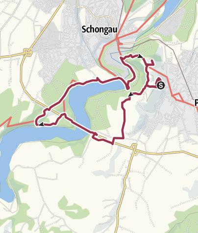 Karte / Römer und Welfen am Lech